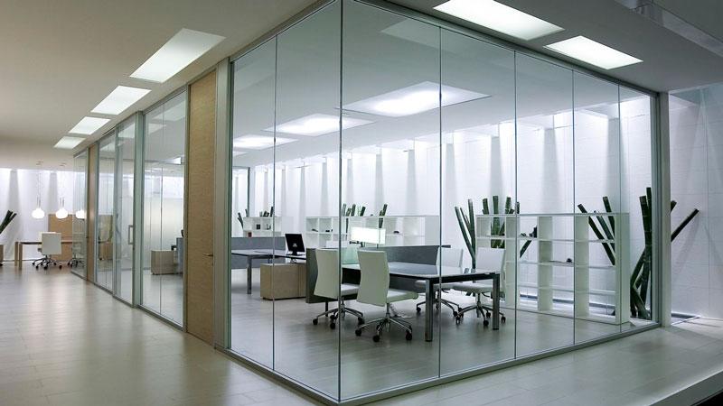 Заказать перегородки для зонирования пространства в офисе