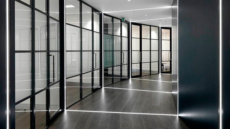 купить офисные алюминиевые перегородки в Санкт-Петербурге